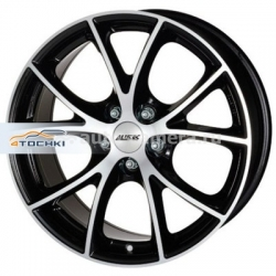 Диск Alutec 8,5x18 5x108 ET40 D70,1 Cult Diamant black front polished