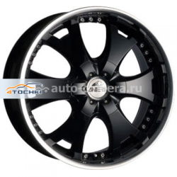 Диск Antera 9,5x20 5x150 ET35 D110,1 361 Racing Black Lip Polished