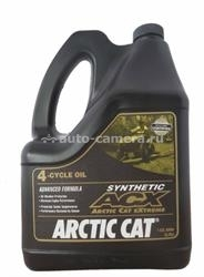 Масло Arctic cat Synthetic ACX 4-Cycle Oil 1436-435, 3.785л