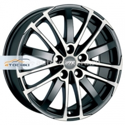 Диск ATS 7,5x17 5x108 ET45 D70,1 X-Treme Racing black front polished