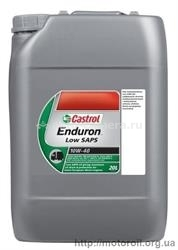 Масло Castrol 10W-40 Enduron Low SAPS 51312, 20л