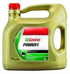 Масло Castrol 15W-50 Power 1 4T 58854, 4л