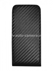 Чехол для HTC Sensation Clever Case UltraSlim Carbon, цвет черный
