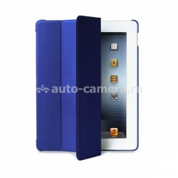 Чехол для iPad 3 и 4 PURO Zeta Slim Cover, цвет blue (IPAD2S3ZETASBLUE)