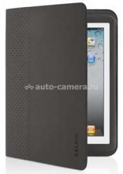 Чехол для iPad 3 и iPad 4 со встроенной клавиатурой Belkin Keyboard Folio (F5L114bmC00), цвет черный