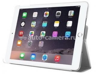 Чехол для iPad Air / iPad Air 2 Puro Just Cavalli Booklet Slim, цвет White (IPAD6ZETASWHI)