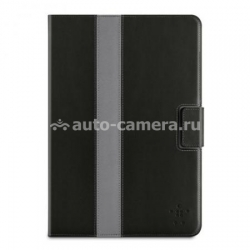 Чехол для iPad Mini Belkin Striped Cover with Stand, цвет black (F7N024VFC00)