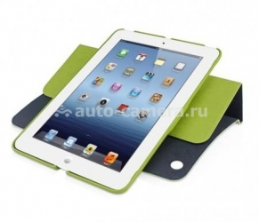 Чехол для iPad mini Macally Case with Rotatable Stand, цвет green (SSTANDGR-M1) (SSTANDGR-M1)