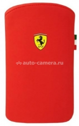 Чехол для iPhone 4/4S Ferrari Scuderia V1, цвет Red (FENUV1RE)