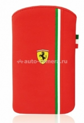 Чехол для iPhone 4/4S Ferrari Scuderia V3, цвет Red (FENUV3RE)