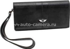 Чехол для iPhone 4S Mini PU Leather, цвет Black (MNHOPUSTBL)
