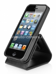 Чехол для iPhone 5 / 5S Capdase Folder Case Upper Classic, цвет black (FCIH5-UC11)
