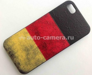 Чехол для iPhone 5 / 5S Fliku U-Case, цвет германский флаг