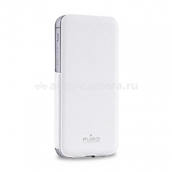 Чехол для iPhone 5 / 5S PURO Flipper Ultra Slim Case, цвет белый (IPC5FLIPWHI)