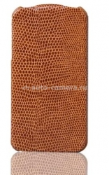 Чехол для iPhone 5 / 5S SAYOO Leather Beaty, цвет brown