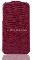 Чехол для iPhone 5 / 5S SAYOO Leather Beaty, цвет dark red