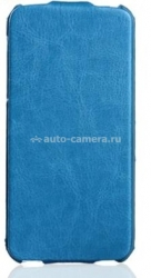 Чехол для iPhone 5 / 5S SAYOO Leather, цвет blue