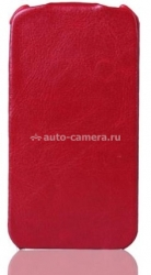 Чехол для iPhone 5 / 5S SAYOO Leather, цвет red