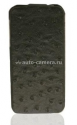 Чехол для iPhone 5 / 5S SAYOO Ostrich Grain, цвет black