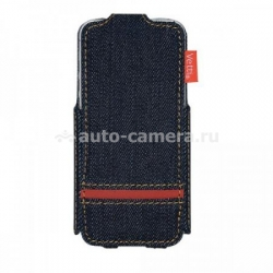 Чехол для iPhone 5 / 5S Vetti Urban myJeans, цвет red (IPO5SFDBD01RD)