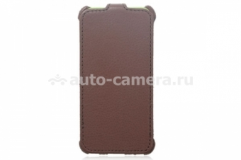 Чехол для iPhone 5 5C 5S Ainy BA-A346, цвет Brown (BA-A346E)