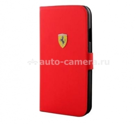 Чехол для iPhone 5C Ferrari Scuderia Booktype Rubber, цвет red (FESCRUFLHPMRE)