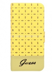 Чехол для iPhone 6 Guess Gianina Booktype, цвет Yellow (GUFLBKP6PEY)