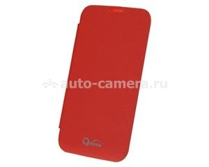 Чехол для Samsung Galaxy Note 2 (N7100) Optima Booktype Case, цвет red (op-N2bt-rd)