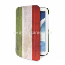 Чехол для Samsung Galaxy Note 8.0 (n5100) PURO Flag Zeta Slim Case, цвет Italy (GTABNOTE8ZETASITA1)