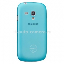 Чехол для Samsung Galaxy S3 mini (i8190) Ozaki O!Coat-0.4Jelly, цвет blue