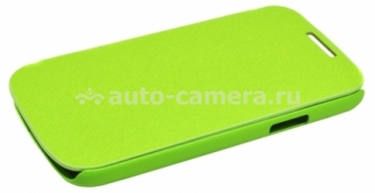 Чехол для Samsung Galaxy S4 mini (i9190) iCover Carbio, цвет Lime Green (GS4M-FC-LG)