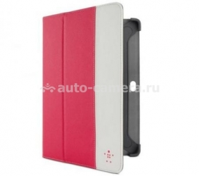 Чехол для Samsung Galaxy Tab 2 10.1 Belkin Cinema Stripe Folio, цвет розовый (F8M392cwC02)