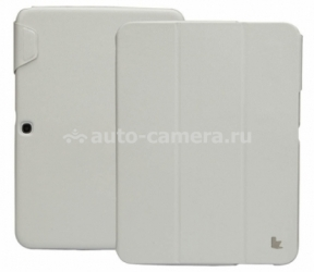 "Чехол для Samsung Galaxy Tab 3 10"" Jison Premium Leatherette Smart Case, цвет White (JS-S52-03H00)"