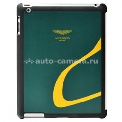 Чехол на заднюю крышку iPad 3 и iPad 4 Aston Martin Racing, цвет green/yellow (RABCIPA2047D)