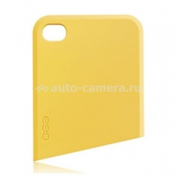 Чехол на заднюю крышку iPhone 4 и 4S Ego Slide Case Upper, цвет yellow (CST1PK010)