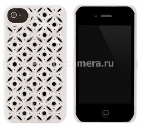 Чехол на заднюю крышку iPhone 4 и iPhone 4S FreshFiber Secret Eyes, цвет White (74251502)