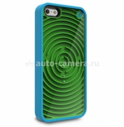 Чехол на заднюю крышку iPhone 5 / 5S PureGear Retro Game Cases Groovy (60092PG)