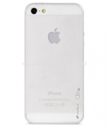 Чехол на заднюю крышку iPhone 5 и 5S Melkco Ultra thin Air PP case 0.4mm, цвет Transparent