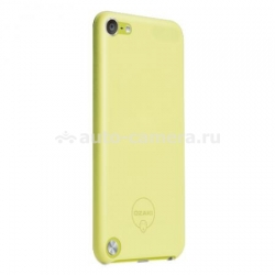 Чехол на заднюю панель iPod touch 5G Ozaki O!coat 0.4 Solid, цвет Yellow (OC611YL)