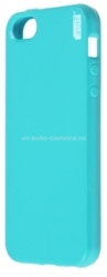 Чехол-накладка для iPhone 5 / 5S Artske Jelly case, цвет Light blue (JC-LB-IP5S)