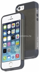 Чехол-накладка для iPhone 5 / 5S Uniq Protege, цвет Granite (IP5SHYB-PROGRY)