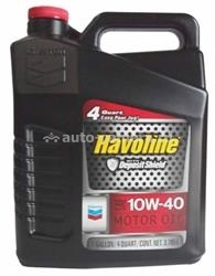Масло Chevron 10W-40 Havoline Motor Oil 076568796372, 3.785л