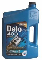 Масло Chevron 15W-40 DELO 400 MULTIGRADE 235101462, 3.785л
