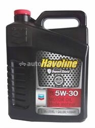 Масло Chevron 5W-30 Havoline Motor Oil 076568794767, 3.785л
