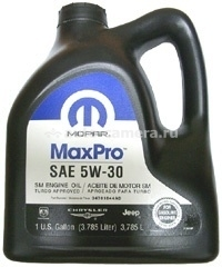 Масло Chrysler 5W-30 MaxPro 04761 844AD, 3.785л