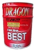 Масло Dragon 10W-30 Turbo Best DTB10W30_20, 20л