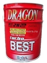 Масло Dragon 15W-40 Turbo Best DTB15W40_20, 20л
