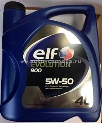 Масло Elf 5W-50 Evolution 900 3267025010699, 4л