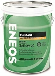 Масло Eneos 0W-20 Ecostage SN 8801252022039, 20л