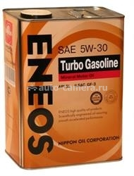 Масло Eneos 5W-30 TURBO GASOLINE SL, 4л